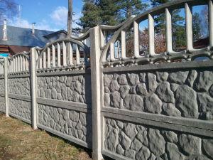 Забор в конечном виде