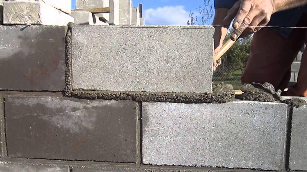 Кладка блоков своими руками пошаговая инструкция