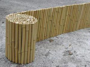 забор из бамбука рулонный
