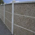 Забор из сплитерных блоков