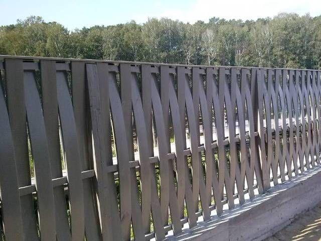 Плетеный забор из доски своими руками фото