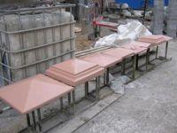 Сушка бетонных парапетов