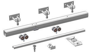 Функции роликов и правила их выбора для навесных одностворчатых ворот