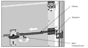 Схема ригельного механизма