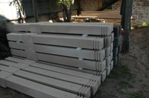 Готовые опоры из бетона