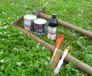 Выбор отделочных средств для защиты столбов ограждения