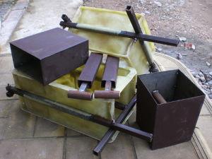 Формы для изготовления заборных элементов