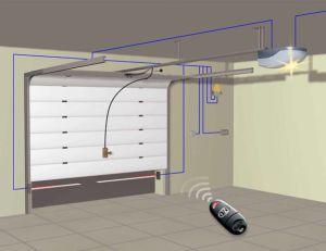 Пример автоматики гаражных въездов