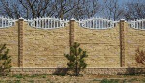 Декорированный бетонный камень