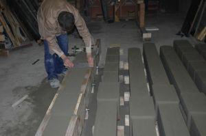 Изготовление бетонных столбов