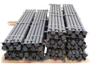 Металлические опорные элементы для оградительных сооружений