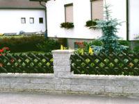 Виды заборов для частных домов: загородные, садовые и другие варианты