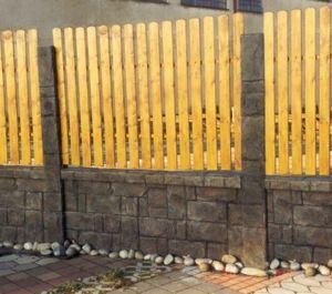 Ограждение установленное по строительным нормам и правилам