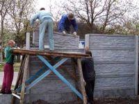 Виды бетонного забора: характеристики