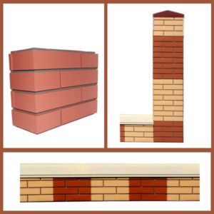Применение ПИКС панелей для декорирования несущих элементов ограждения