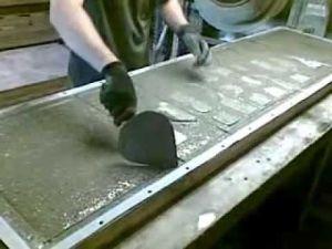 Процесс создания бетонных секций