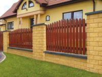 Забор из штакетника для дома и палисадника: виды