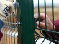 Забор: сетка сварная зеленая ПВХ для дачи