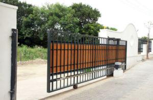Малый бюджет и легкая установка откатных по уголку ворот