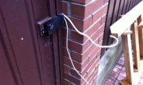 Электромеханический замок для калитки с домофоном: врезной уличный