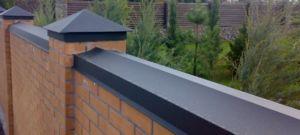 Колпаки и отливы для защиты конструкции от влаги