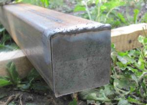 Приваренный металлический защитный элемент из листа металла