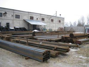 Металлические трубы применяемые в качестве опорных элементов