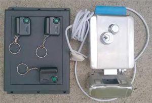 Комплектация электронного механизма для уличной двери