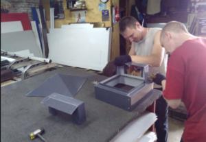 Процесс изготовления защитных крышек