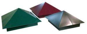 Металлические защитные изделия для столбов
