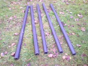 Готовые к монтажу пластиковые изделия для опор