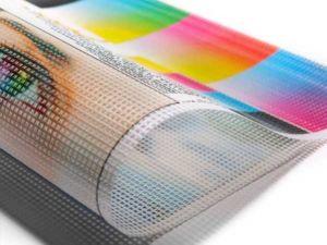 Инновация декора – применение фотосетки для заборов и фасадов