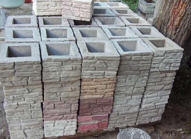 Дизайн своими руками: декоративные бетонные блоки для забора