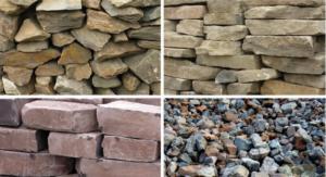 Как сделать забор из камней