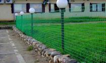 Сетка для забора пвх зеленая: полимерная рабица, пластмассовая