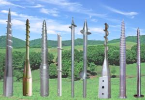 Типы столбов применяемых для строительства ограждений