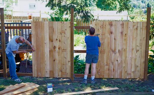 Забор из необрезной доски своими руками: горизонтальный, вертикальный