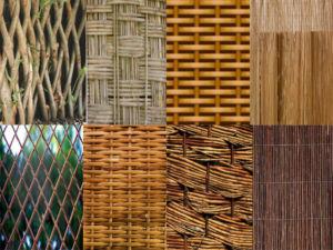Различные способы плетения ограждений