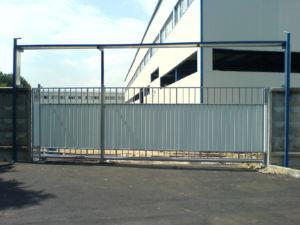 Конструкции для въезда на промышленные предприятия